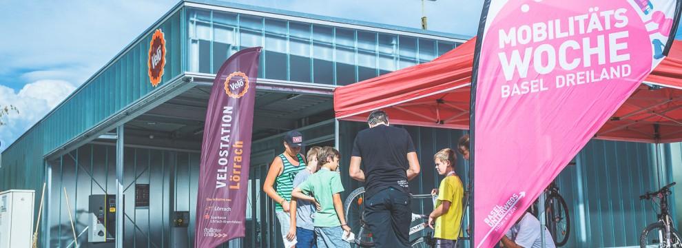 Im Rahmen der Mobilitätswoche Basel Dreiland fand ein Veloreparaturkurs für Kinder beim follow me in Lörrach statt.